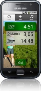 smartphone application for running