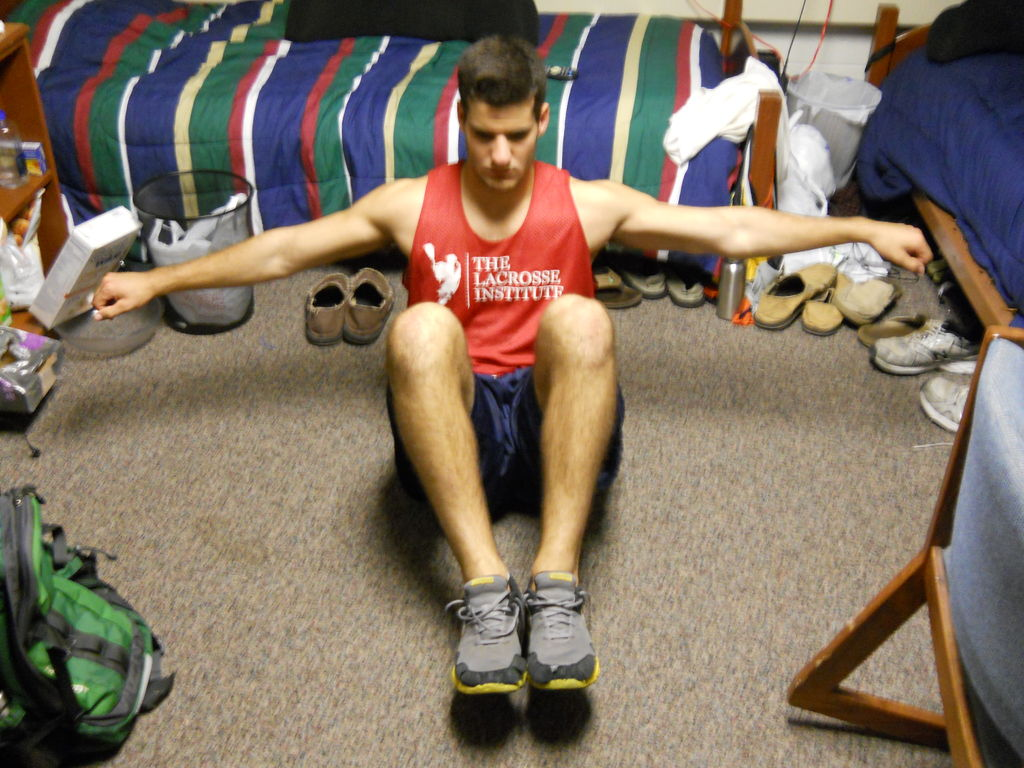 dorm workout